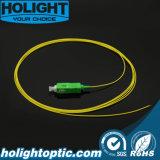 Отрезок провода волокна Sc APC оптически