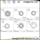 広東省の上の製造業者のアルミニウム円形形脱熱器