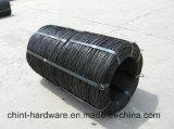Le noir à faible teneur en carbone de qualité doucement a recuit le fil de fer utilisé dans la construction