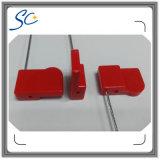 Голубая бирка уплотнения Hf RFID ABS цвета стальная для отслеживать инвентаря