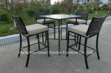 Openlucht Rotan Barstools met Ceramische Lijst