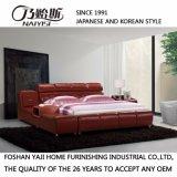 Bed van de Bank van het Leer van de Stijl van Korea het Moderne Echte voor Woonkamer meubilair-Fb8141