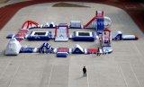 Parque inflável comercial inflável 60 do Aqua do PVC para o mar