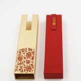 Contenitore di regalo scorrevole del cartone della carta kraft Del cassetto per monili (J56-D)
