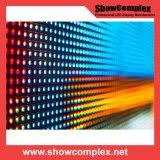 Afficheur LED polychrome d'intérieur de fond d'étape P3 pour fixe