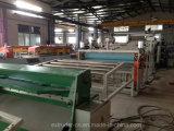 Ligne de expulsion de PVC de feuille d'extrusion de marbre à haute production d'extrudeuse