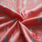ткань фланели 100%Cotton для пижам с шаржем напечатала