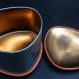 Rectángulo de regalo lindo del estaño del metal de la calabaza de Víspera de Todos los Santos (T001-V27)