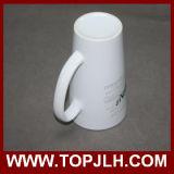 Специальная керамическая чашка конуса кружки кофеего 17oz белая
