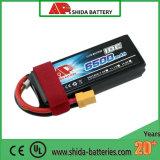 Bateria de lítio chinesa de RoHS do Ce do Uav do zangão do fornecedor 6500mAh 11.1V de Hotsell