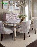 Populaires miroir en verre de table à manger de luxe