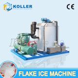 Машина льда хлопь Koller оборудованная с немецким испарителем компрессора и нержавеющей стали Bitzer