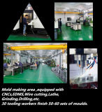 Qualitäts-Produkt-drehende Feder-Halter-Plastikform