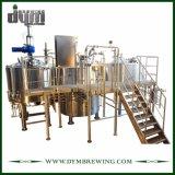 Chauffage industriel personnalisé de tir direct de 3 navires de l'artisanat pour l'équipement de brassage de bière Brewhouse ou Brasserie Pub