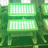 Im Freien des Flut-Licht-72X10W RGBW Wand-Unterlegscheibe Stadt-der Farben-DMX LED