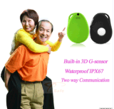 Kids GPS Tracker of 3G Micro SIM Card Tracking pode alto-falante e microfone embutidos Voz Talking 2 Way Personal GPS Locator