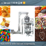 1-5000ml Máquina de empacotamento de grânulos de microfone de saco de gusset (ND-K420 / 520/720)