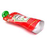 El papel de aluminio Custom Levántate Bolsa Descarga de impresos para la salsa de tomate