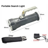 CREE T6 Long Range Searchlight +18650 Batterie + Chargeur