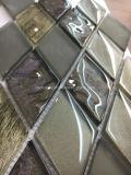 ダイヤモンドの形のLuxuary様式のガラスモザイク・タイル