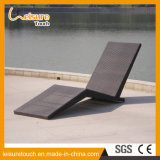 Leisure Rooftop Balcony Garden Furniture Rattan Lying Chair Lounge Bed