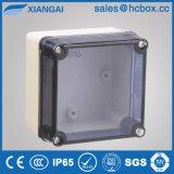Caja de conexiones resistente al agua Cuadro eléctrico Caja de ABS resistente al agua la caja del PC Caja 85*85*60mm