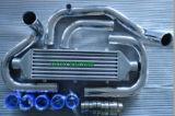 Черный автоматический охладитель пробки Intercooler для B-Серий Хонда (B16 B18 B20)