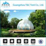 De grote Plastic Waterdichte Drinkbare Tent van het Huis van de Koepel van de Glasvezel voor Partij