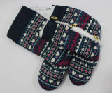 Ladies Women's Warm Knitted Comfortable Indoor Slipper Boots