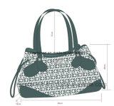 Personnaliser Madame en cuir colorée Handbag d'unité centrale de mode