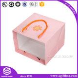 Розовый милый бумажный упаковывая мешок подарка одежды младенца