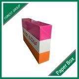 Cadre de papier de empaquetage estampé par couleur