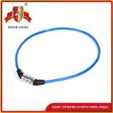 Sicherheits-Fahrrad-Verschluss-Motorrad-Kennwort-Verschluss der Farben-Jq8303 zwei