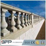Balustres en pierre de pêche à la traîne de granit de balustrade de balustrade pour la décoration extérieure