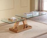 ステンレス鋼の足を搭載する拡張コーヒーテーブル