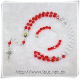 Установленный Rosary шариков пластмассы раздела Multicolours (IO-crs003)