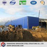 La ISO certificó el edificio de dos pisos del mercado del departamento de la estructura de acero