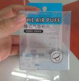 Rectángulo plegable plástico de encargo del PVC con foiling o la impresión para los cosméticos hacer-en-China