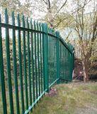 Pvc het Met een laag bedekte Schermen van de Palissade, Plastiek Met een laag bedekte Palissade Fencing+Gates