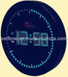 Conduit de lumière colorée Dightal Horloge murale pour la décoration d'accueil