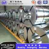 Bobinière en tôle d'acier galvanisée Gi Matériaux de construction Feuille d'acier solaire Q235
