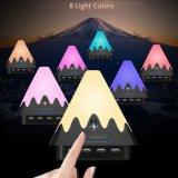 Lámparas de escritorio elegantes del estilo tricolor del tacto de la manera para el dormitorio