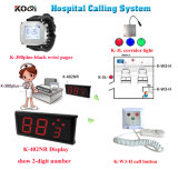 Système d'appel d'infirmière sans fil avec montre Ensemble de cloche d'hôpital Ding Dong avec marque Koqi
