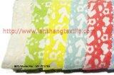 Tessuto tinto del poliestere del tessuto dello Spandex della fibra chimica del tessuto del jacquard per la tessile della casa del cappotto di vestito dalla donna