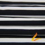 운동복 적당 (LTT-YLZJT2#)를 위한 폴리에스테 스판덱스 Lycra 뜨개질을 한 탄력 있는 직물