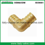 Couplage convenable personnalisé de soudure en laiton de Mpt Adpt de qualité (AV9033)