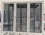 Алюминиевая дверь сползая дверь Bifolding