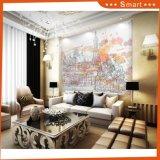 Décoration à domicile de haute qualité Peinture à l'huile abstraite à motifs décoratifs