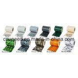 Cerca del jardín de la pantalla de la tira del PVC de la buena calidad Ral7047 450g el 19cm*35m