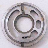 Pièce de rechange de pompe hydraulique d'excavatrice de KOBELCO de la plaque de soupape (NV64)